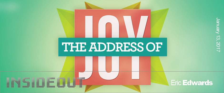 The Address of Joy
