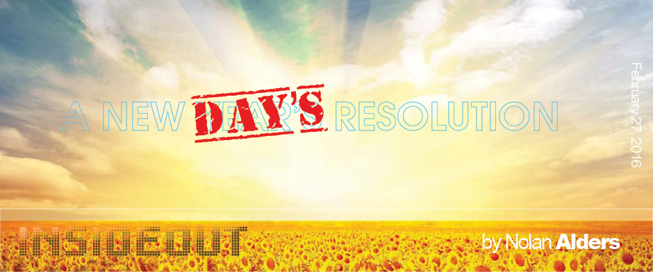 New Days Resolution, A