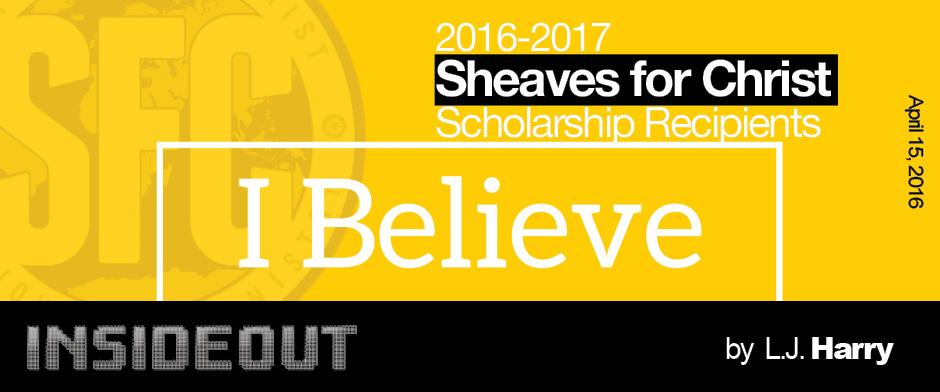 2016-2017 SFC Scholarship Winners