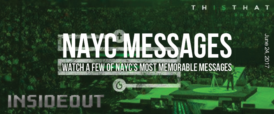 NAYC Messages: Watch Memorable NAYC Messages