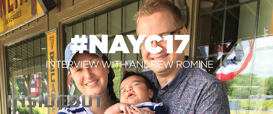 Interview with NAYC Speakers: Andrew Romine