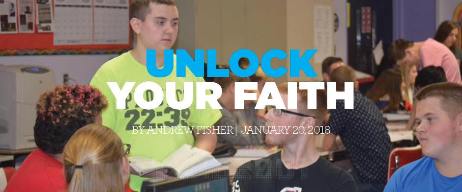 Unlock Your Faith FISHER