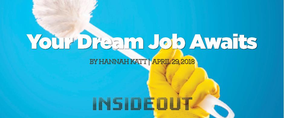 Your Dream Job Awaits