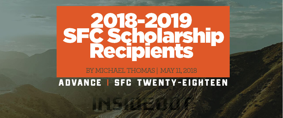 2018-2019 SFC Scholarship Recipients