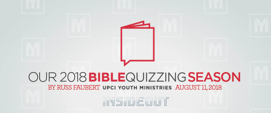 Our 2018 Bible Quizzing Season