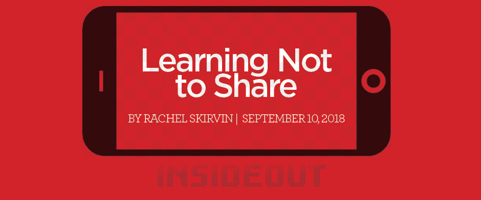 Learning Not to Share