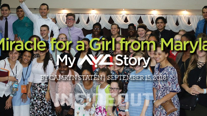 A Miracle for a Girl from Maryland: My AYC Story